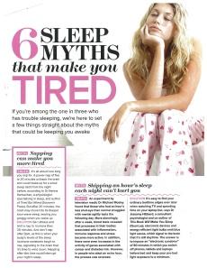 This Book Will Make You Sleep, Woman & Home Jan 2014