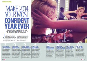 Very Magazine - make 2014 your most confident year ever