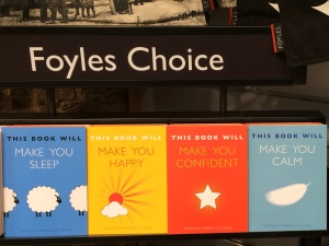 Picture of This Book Will series at Foyles