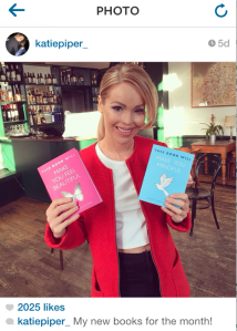 Katie Piper with This Book Will Make You Feel Beautiful