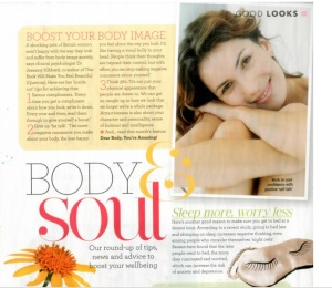Good Housekeeping Beautiful feature
