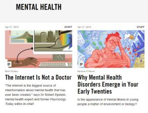 VICE focus on mental health stories from around theworld